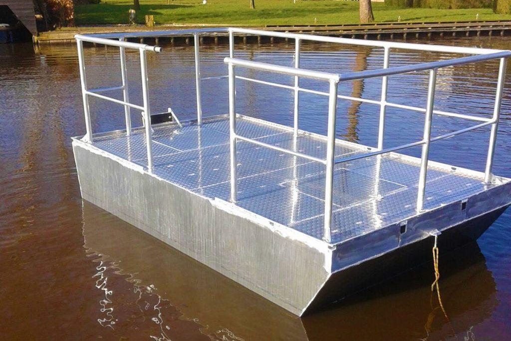 Aluminium ponton